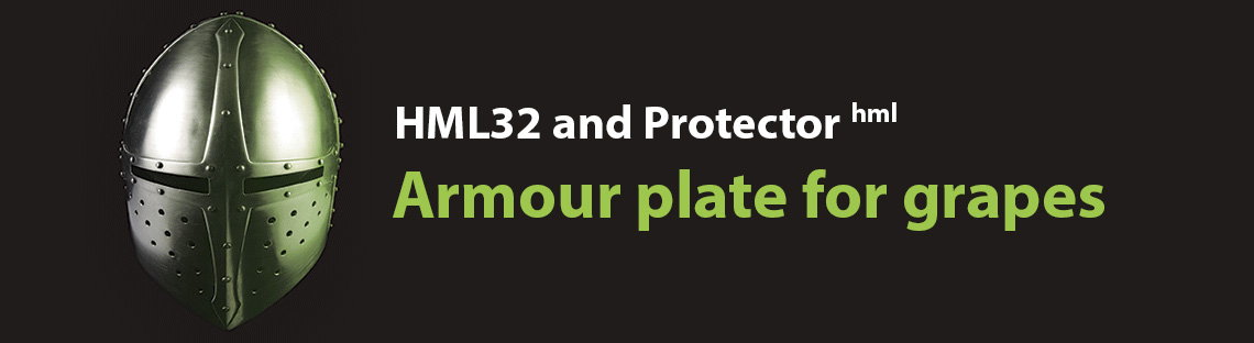 HML32 and Protector hml - Armour plate for grapes